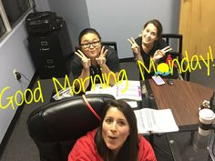 Good Morning Monday!  The team from Island Consulting has so many great things planned for the week and anxious to get started.