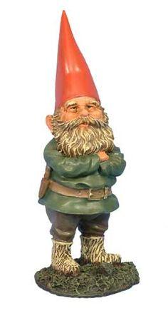 Timothy the Supervisor Garden Gnome