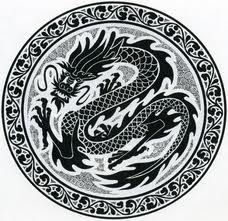 black drawings of dragons - Google Search