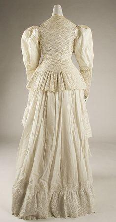 Dressate: 1885–90 Culture: American Medium: cotton