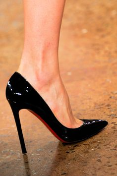 Louboutin for Cushnie et Ochs at New York Fashion Week Spring 2014.  Classic.  These will never be out of style.