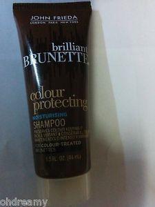 John Frieda Brilliant Brunette Colour Protecting Shampoo 1.5 Oz Travel Size