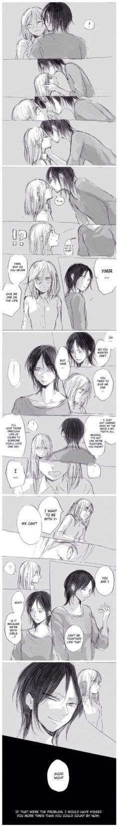 Cute Ymir and Christa