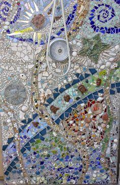 My DIY Outdoor Mosaic Shower | Laguna Dirt