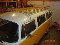 volkswagen 1967 bus luggage rack - Google Search