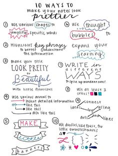 Image result for note taking ideas for girls