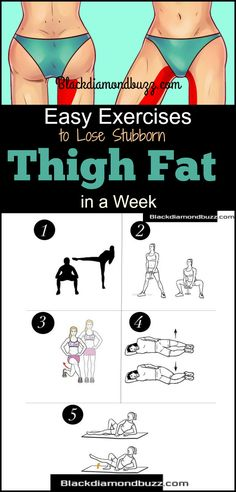 Best exercises to lose thigh fat fast in a week at home. Discover here how you can get rid of that stubborn legs and thigh fat from the hips down in 7 day. Find out Here #thighfat #fitness #health
