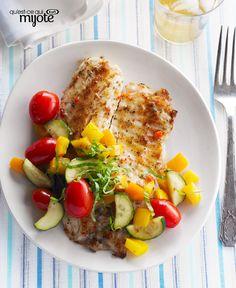 Poêlée de poisson rapide #recette