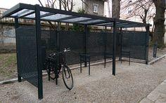 guyon abri velo sur mesure grenoble mobilier urbain Pergola, Grenoble, Shelters, Design, Home, Decor, Letter Designs, Custom Bikes, Bike Shelter