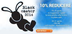 Black Easter: Reduceri de până la 50% la pcmadd.com
