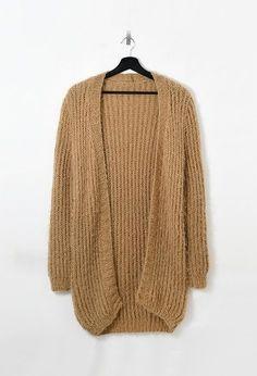 Modèle Femme - Long gilet - Modèles gratuits • Pingouin