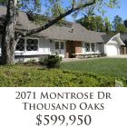 This updated home in Thousand Oaks sold in the first month of 2012.