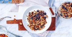 Domowa granola | Ania Starmach Granola, Cereal, Baking, Breakfast, Health, Recipes, Food, Drinks, Morning Coffee
