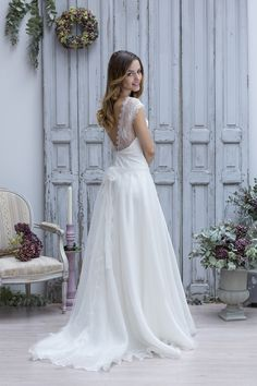 Boho Chic Wedding Dress.