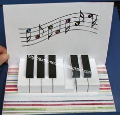 Origami Pattern Kirigami Pop Up Cards Ideas Kirigami, Birthday Card Pop Up, Birthday Card Template, Birthday Ideas, Fancy Fold Cards, Folded Cards, Tarjetas Pop Up, Pop Up Art, Paper Pop