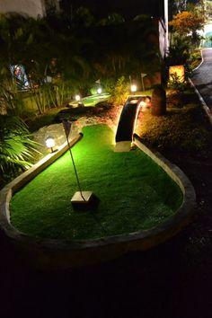 #SandosPlayacar #MiniGolf  #NightTime 10 holes to enjoy #RivieraMaya