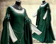 Mittelalter - * Anfertigung * Gewand Kleid Mittelalter LARP - ein Designerstück von ScatteredSkills bei DaWanda