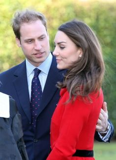 William and Catherine return to St. Andrews for an official visit shortly after announcing their engagement.