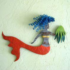 Mermaid and Octopus=Aurora & sigmund-ETSY