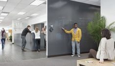Idea Paint - turn any, and every, wall into a piece of art. Great for brainstorming!