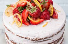 Do Summer Right With This Strawberry Lemonade Cake