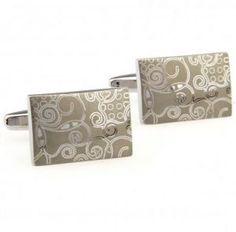 Engraved Stainless Steel Cufflinks: #cufflinks