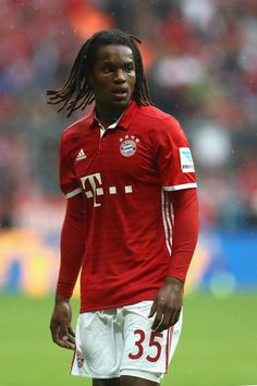 Renato Sanches of Muenchen looks on during the Bundesliga match between Bayern…