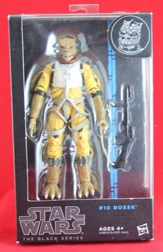 "Bossk Bounty Hunter Star Wars Black Series Hasbro 6"" Action Figure Free Shipping #Hasbro"