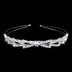 Gorgeous Alloy With Clear Crystal Wedding Headpiece/ Bridal Headband – USD $ 14.99