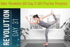 Revolution – Day 31 – Practice Presence – Find Your Truest Self. Yoga Session, Yoga Poses, Crossfit, Revolution, Free Yoga Videos, Yoga With Adriene, Online Yoga Classes, Bikram Yoga, Types Of Yoga