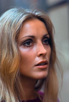 Sharon Tate visiting the set of Rosemary's Baby on August 15,1967 in New York. Photo by Santi Visalli.