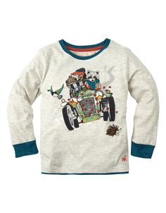 Toddler Boy John Car T-Shirt $16.00 sale | MONSOON
