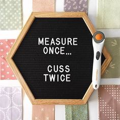 It took a bit of looking to even find my on ringo lake mystery quilt. I wanted to get this quilt to top as my goal for August. Quilting Quotes, Quilting Tips, Sewing Hacks, Sewing Projects, Sewing Tips, Sewing Humor, Sewing Quotes, Sewing Room Organization, Quilt Labels