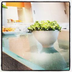 Formed-Glass Countertops