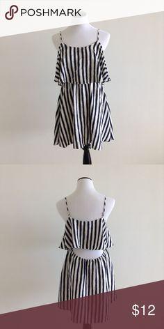 Open back. Nautical Short Dress Nautical Short Dress. Open back. Never used. Forever 21 Dresses Backless