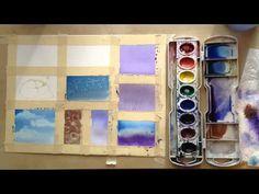 13 Watercolor techniques - YouTube