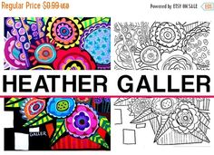 70 off today folk art flowers coloring coloring book adult coloring book - Dental Anatomy Coloring Book