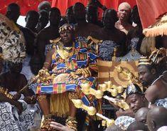 Ashante king in Kumasi, Ghana. I have met the king when I was in Ghana in 2011!!