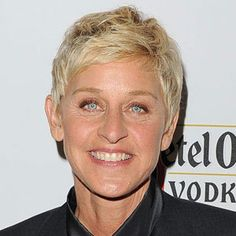 Ellen Degeneres - and maybe I'll get to talk to Ellen about ClaraBelle....why not?