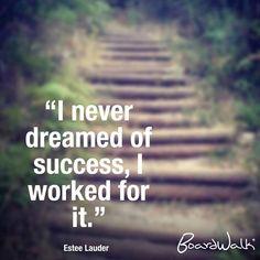 Don't just dream. Work for it. #BoardwalkPH #BoardwalkFashion #Inspirations #Quotes instagram@BoardwalkPH www.facebook.com/BoardwalkPH www.twitter.com/BoardwalkPH