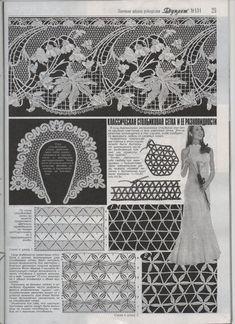 Photo from album on Yandex. Freeform Crochet, Filet Crochet, Crochet Motif, Crochet Flowers, Crochet Stitches, Irish Crochet Patterns, Crochet Chart, Crochet Lace Collar, Russian Crochet