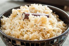 Indisk krydret ris – til alle typer curry Grains, Curry, Rice, Restaurant, Recipes, Food, Curries, Diner Restaurant, Recipies
