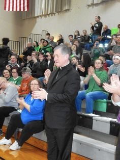 Archbishop attends Queen of Peace, Mother McAuley game   Daily Southtown