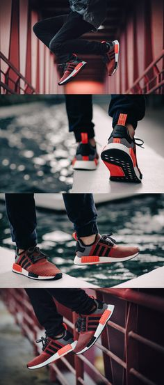 An Look at the adidas NMD Knit Circa: See the popular sneaker in action. New York Fashion, Teen Fashion, Fashion Tips, Fashion Trends, Fashion Weeks, Fashion Spring, Runway Fashion, Fashion Inspiration, Sport Outfits