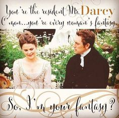 This line killed me!! JJ Feild and Keri Russell were awesomeness. Austenland