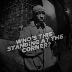 Masta Ace :: Who's this standing at the corner?