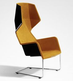 Chair designed by Stefan Borselius. #productdesign #industrialdesign #ID #design #furniture #chair #wingback #StefanBorselius