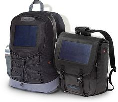 BirkSun Solar Powered Backpacks.