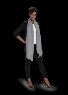 Vida Design, Cashmere Scarf, Retail Design, Custom Made, Normcore, Studio, Elegant, Grey, Beautiful