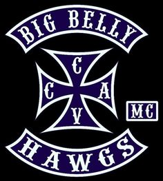 Big Belly Hawgs MC - Mc, men, motorcycle club, brotherhood, Harley Davidson, Chula Vista, east county, south San Diego, mc patch, cut, club patch, bbh mc